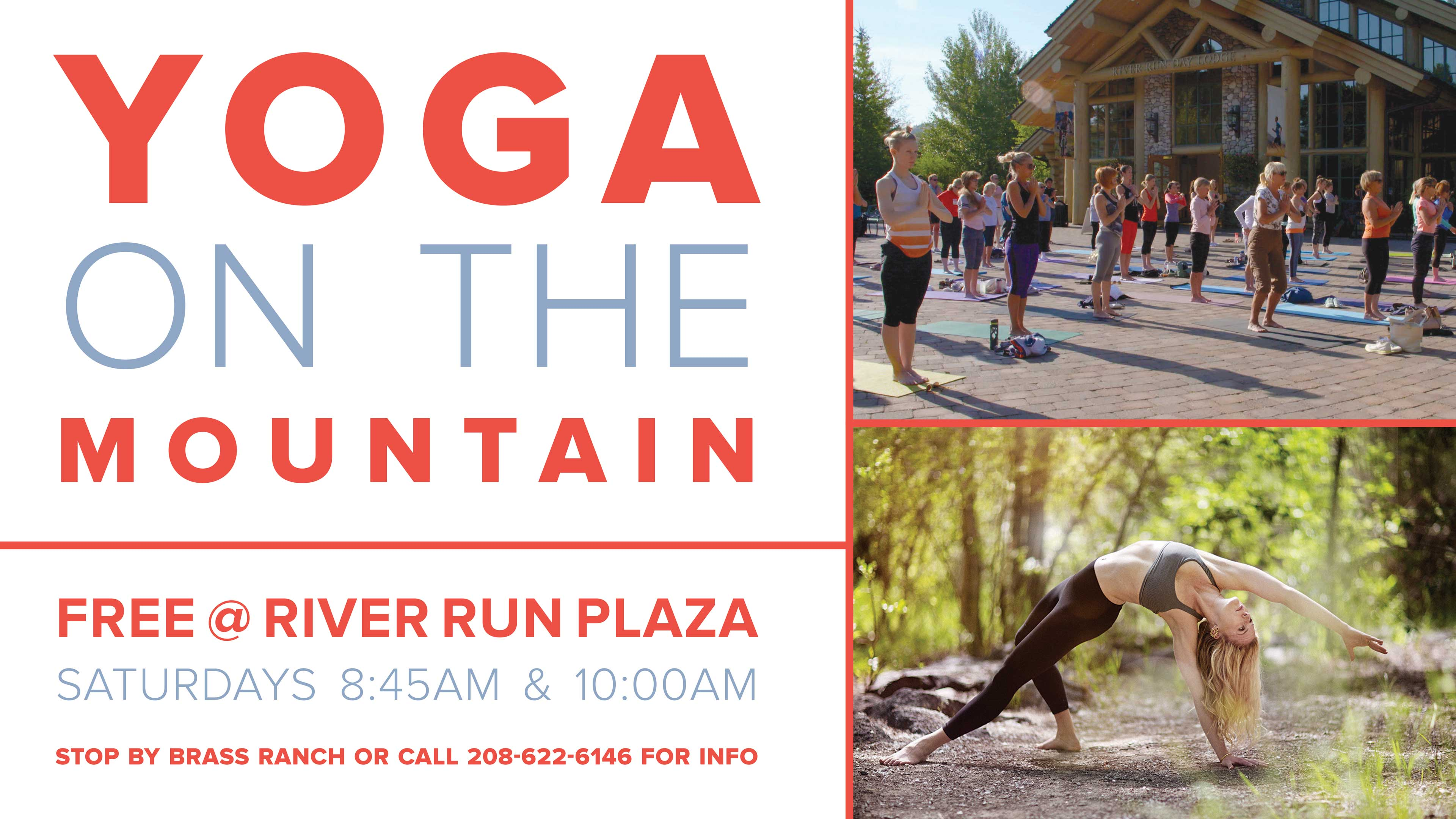 Yoga in the Plaza @ River Run Lodge
