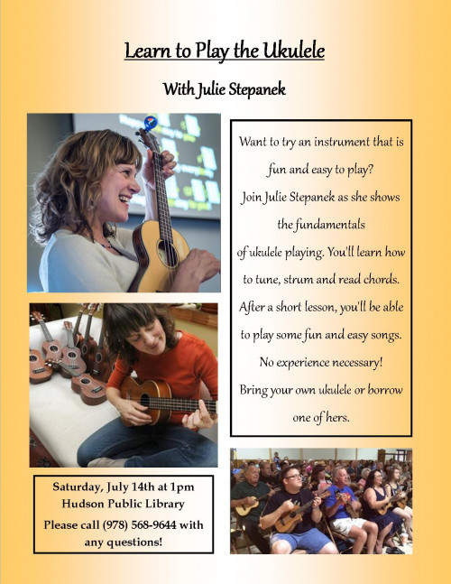 Learn to Play the Ukulele with Julie Stepanek
