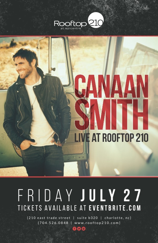 Canaan Smith LIVE! @ Epicenter
