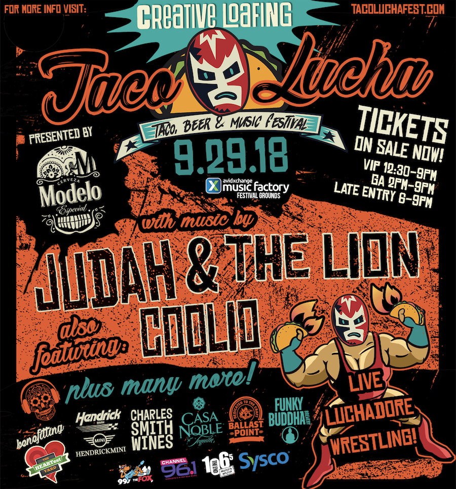 Taco Lucha Taco, Music and Beer Festival @ Avidxchange Music Factory