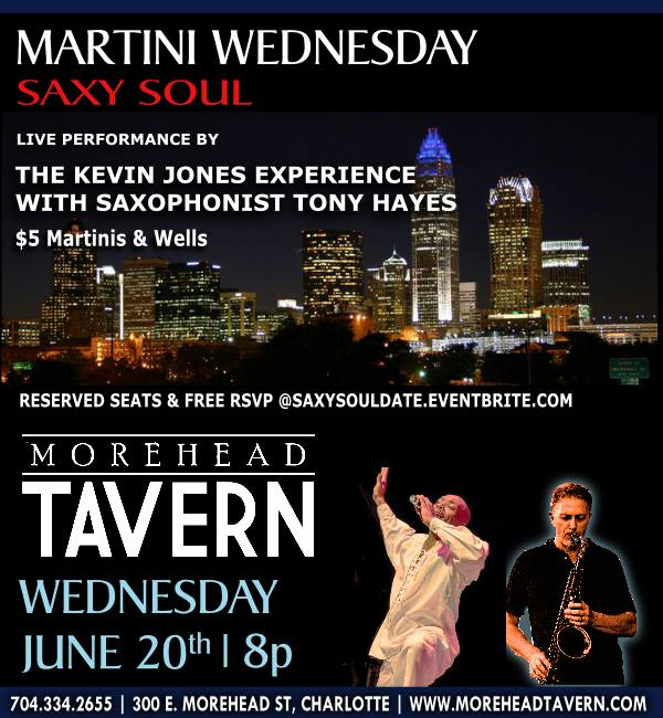 The Kevin Jones Experience at Morehead Tavern @ Restaurants & Bars