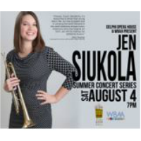 Jen Siukola - WBAA/DOH Summer Concert Series @ Delphi Opera House