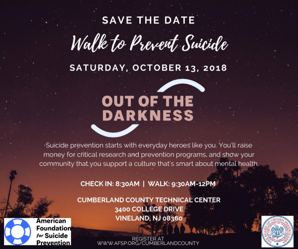 Out Of The Darkness Suicide Prevention Walk