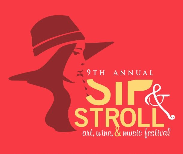 9th Annual Sip and Stroll: Art, Wine, & Music Festival @ Rooftop 210