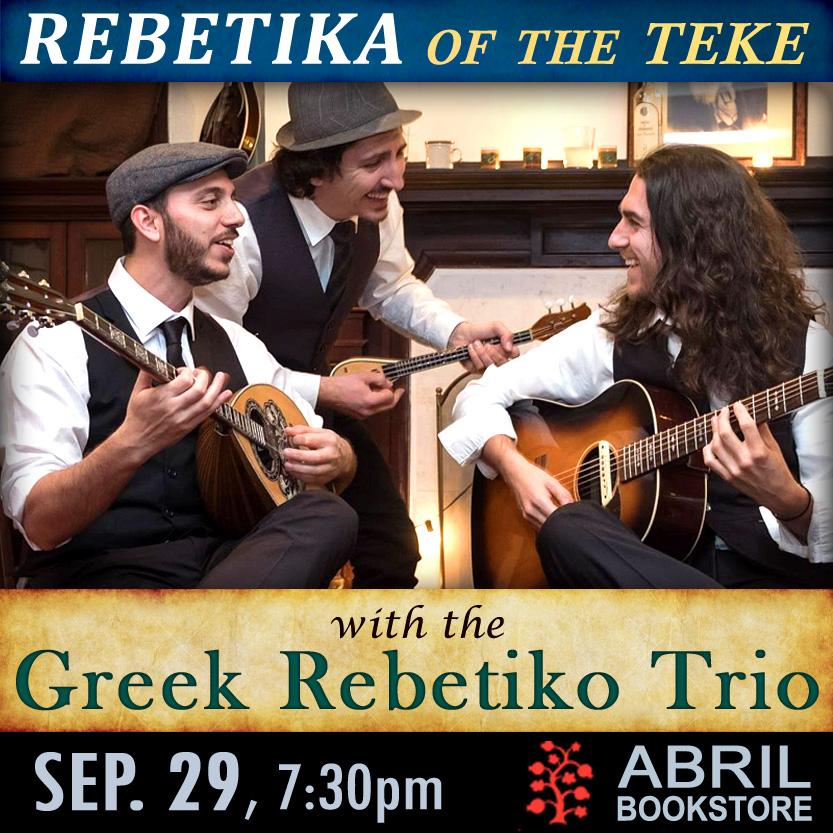 Rebetika of the Teke with the Greek Rebetiko Trio