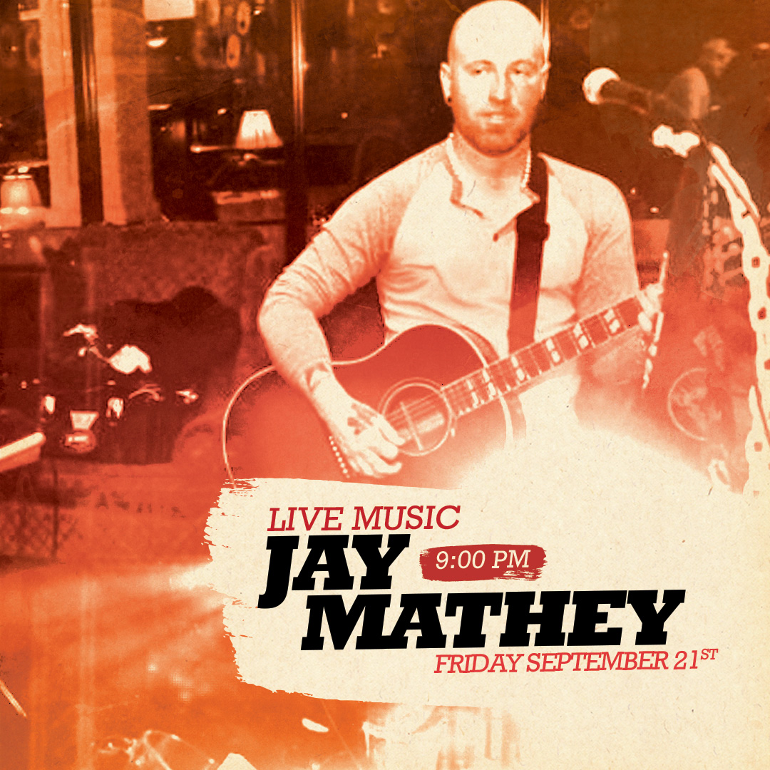 Live Music with Jay Mathey @ Angry Ale's!