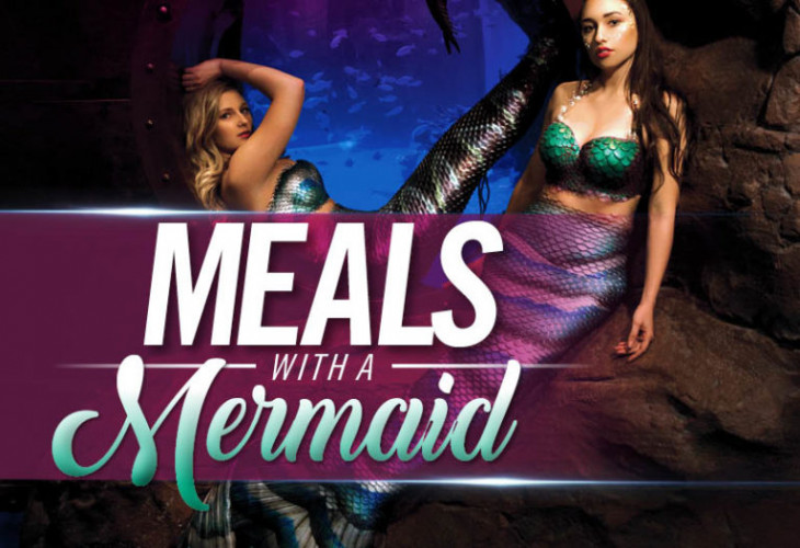 Image result for meal with a mermaid at the silverton
