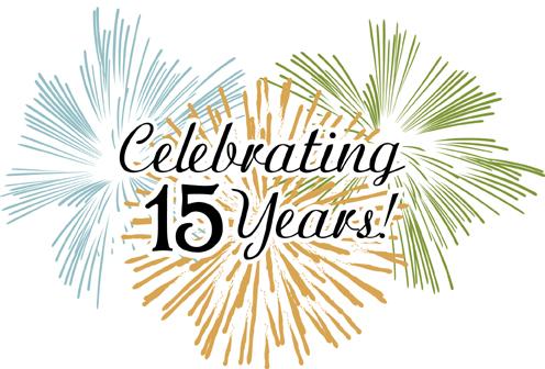 15 year celebration