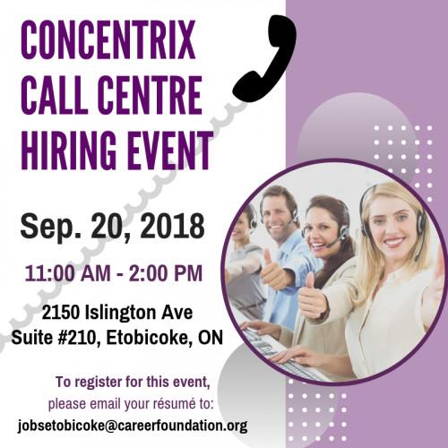 Hiring Event: Concentrix Call Centre