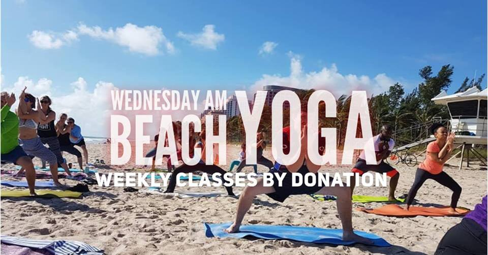 Wednesday AM Beach Yoga @ Fort Lauderdale Beach (N)