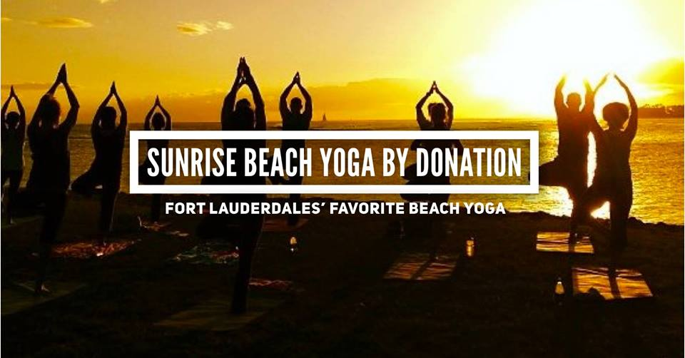 Tuesday Sunrise Beach Yoga @ Fort Lauderdale Beach (N)