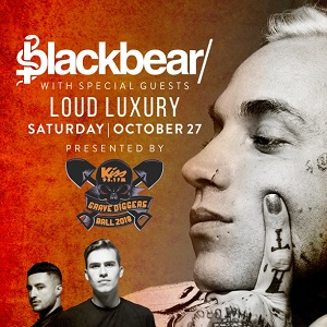 Kiss 95.1 Grave Digger's Ball featuring blackbear and Loud Luxury @ Grave Digger's Lot