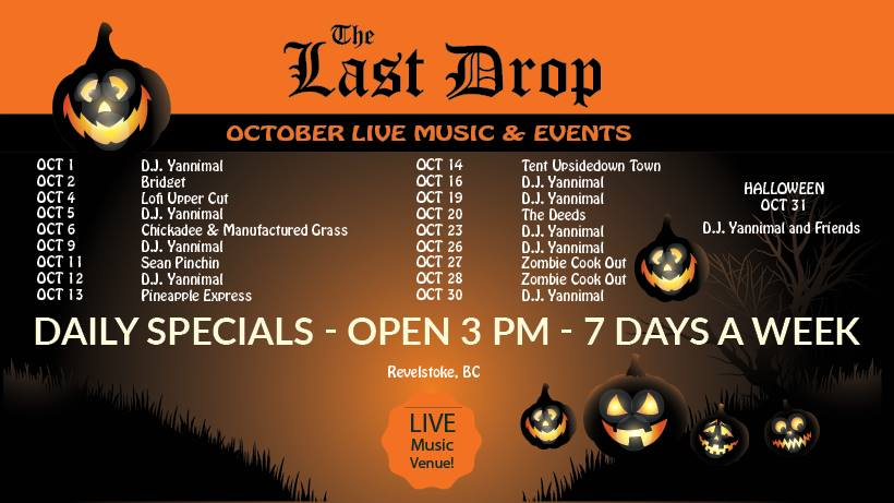 D.J. Yannimal - Live Music at Last Drop Pub @ The Last Drop |  |  |