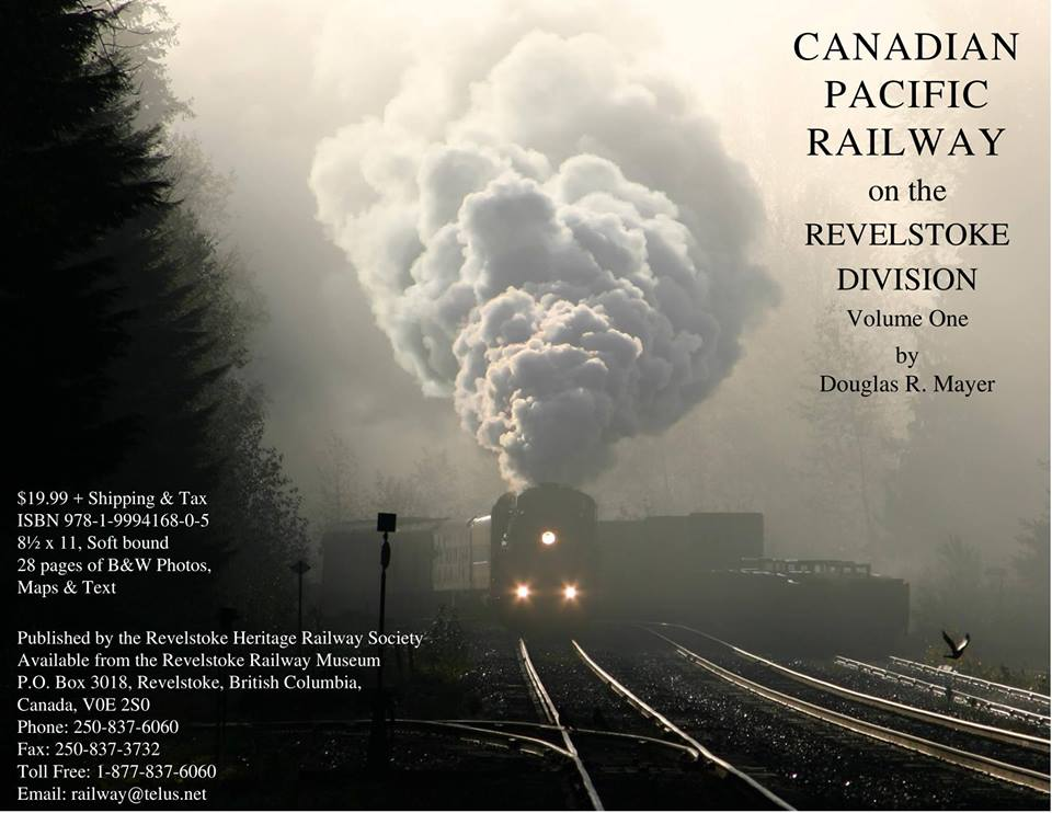 National Railway Day - Doug Mayer presents his new book @ Revelstoke Railway Museum |  |  |