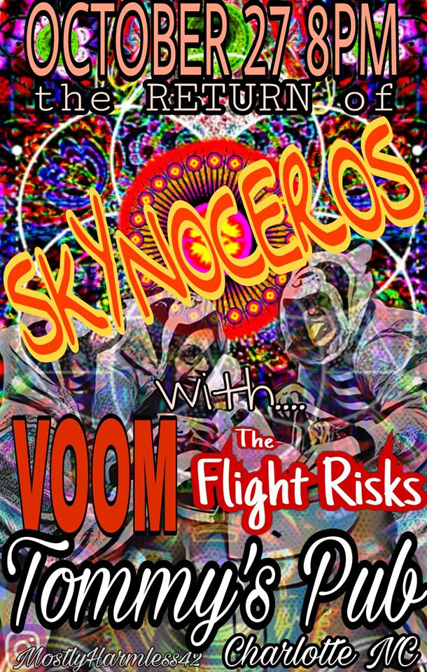 Halloween Haunting with Vortex of Old Men, The Flight Risks & Skynoceros @ Tommy's Pub