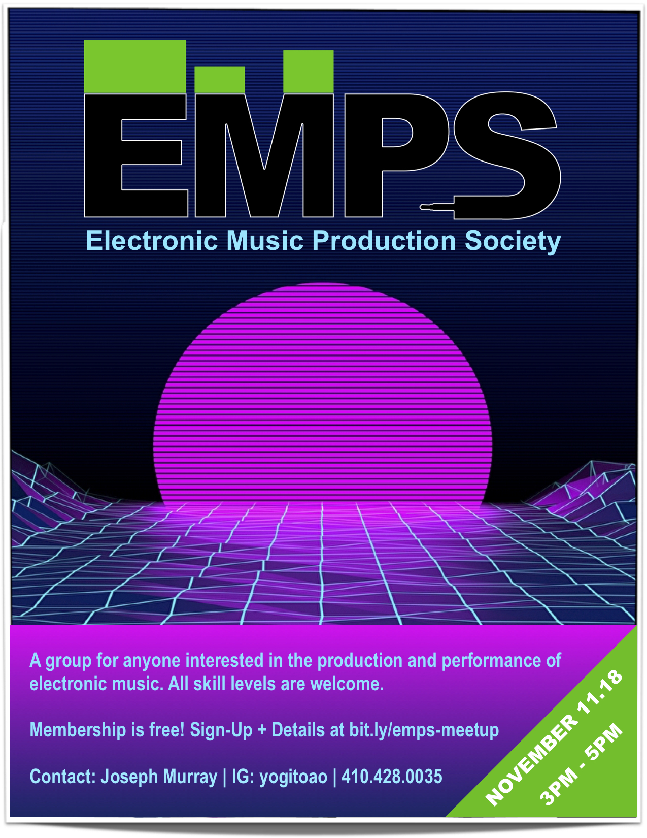 Electronic Music Production Society Meetup