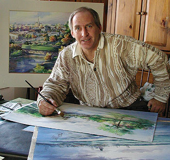 Tom Lynch Watercolor Demo Workshops