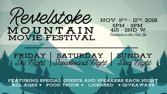 Revelstoke Mountain Movie Festival @ Revelstoke Trading Post |  |  |