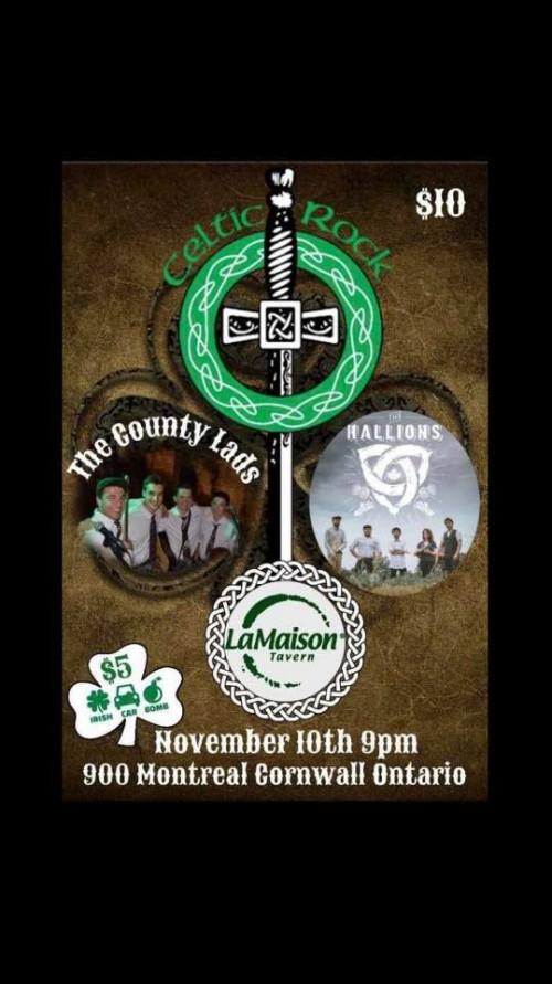 Celtic Rock Hallions & the County Lads