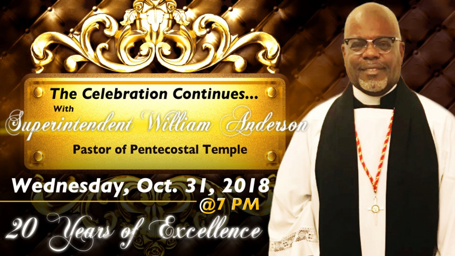20th Anniversary Celebration Special Guest Speaker