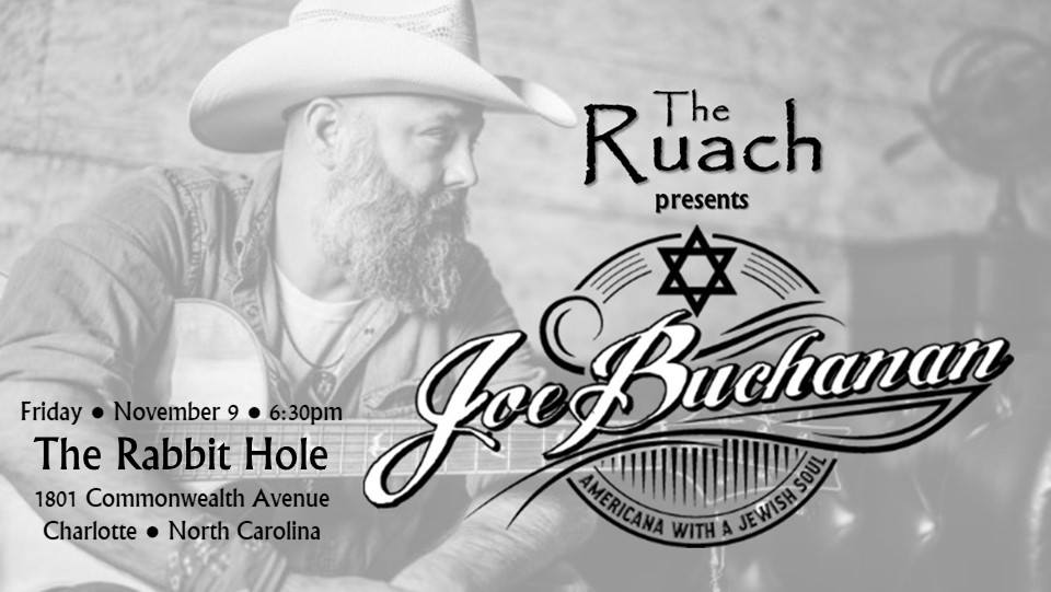 Joe Buchanan: Friends in Chai Places, presented by The Ruach @ The Rabbit Hole