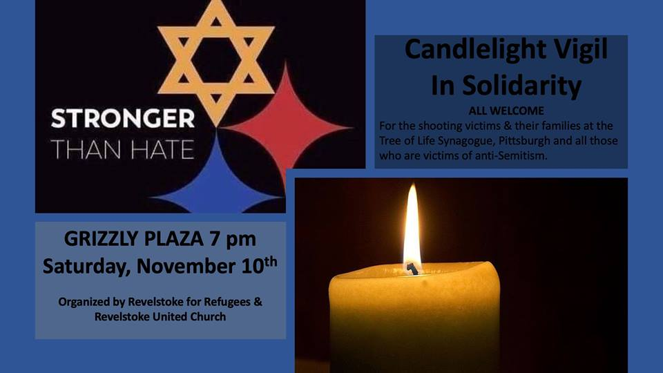 Candlelight Vigil in Solidarity @ Grizzly Plaza |  |  |