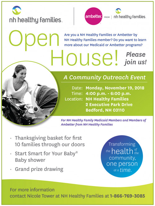 Nh Healthy Families Open House