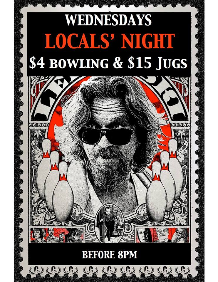 Wednesdays Locals' Night @ The Cabin |  |  |