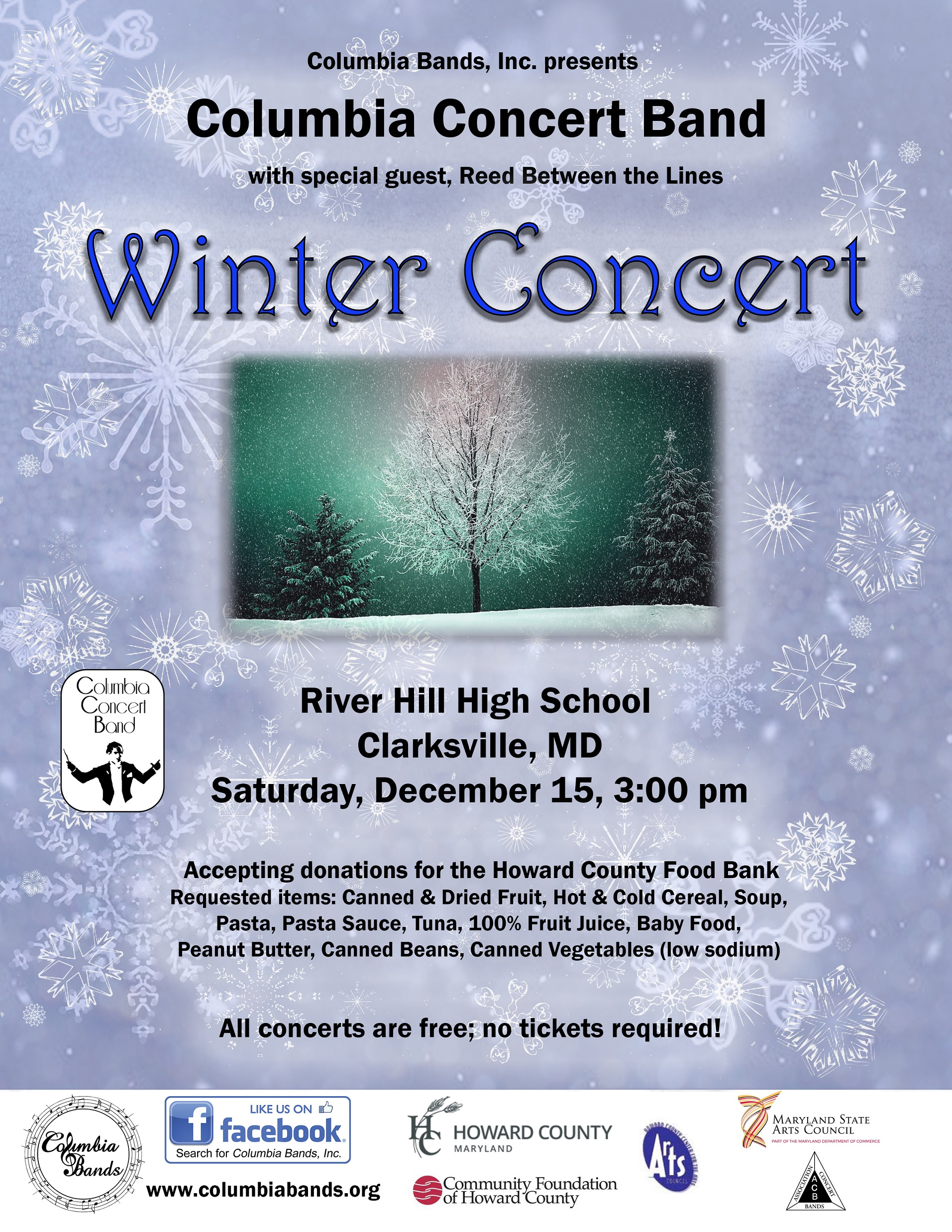 Columbia Concert Band Winter Concert