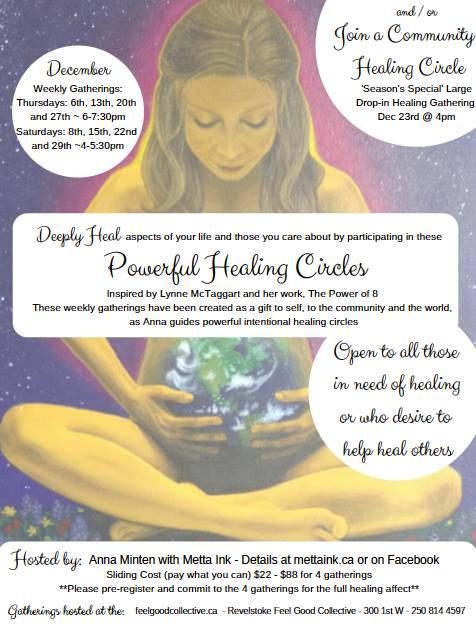 Healing Circles @ Metta Ink