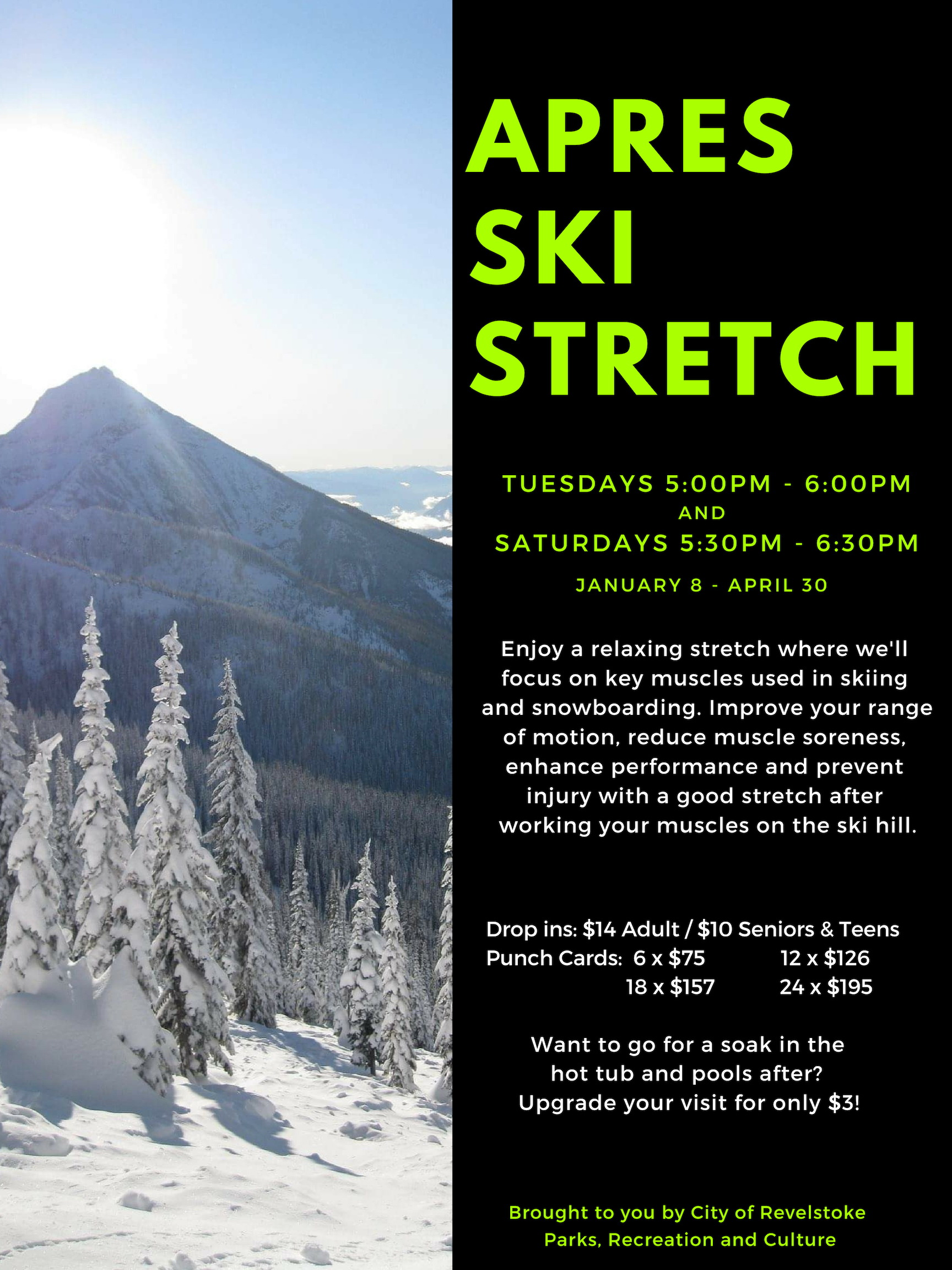Apres Ski Stretch @ Community Centre |  |  |