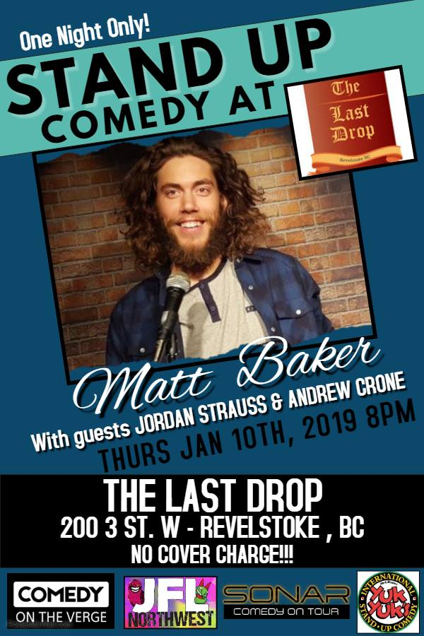 Live Stand-up at The Last Drop! @ The Last Drop |  |  |