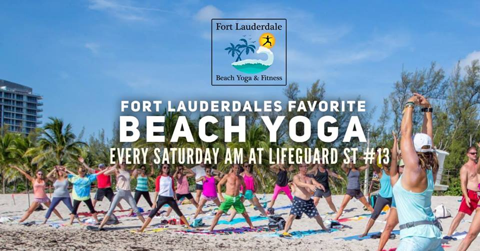 Saturday AM Beach Yoga @ Fort Lauderdale Beach (N)