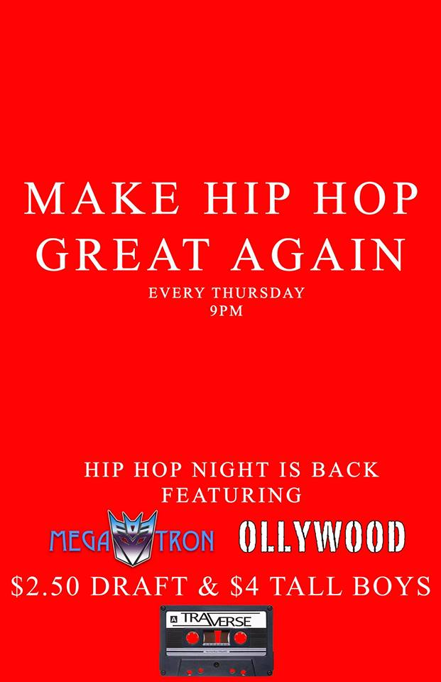 HIP HOP Thursdays @ Traverse |  |  |
