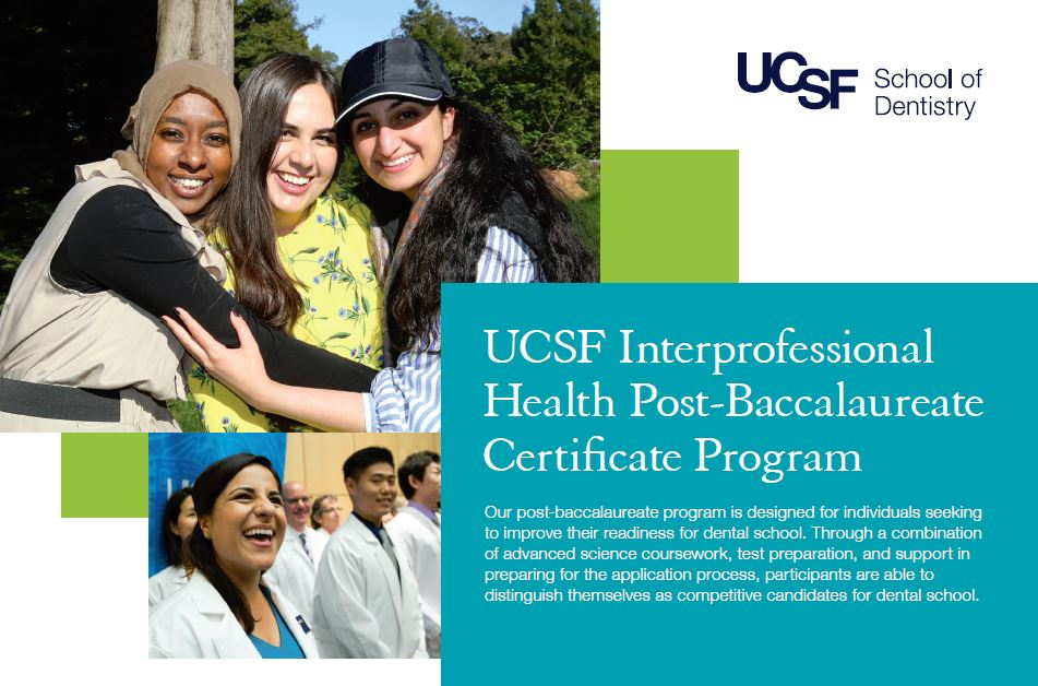UC San Francisco Interprofessional Health Post-Bac Certificate