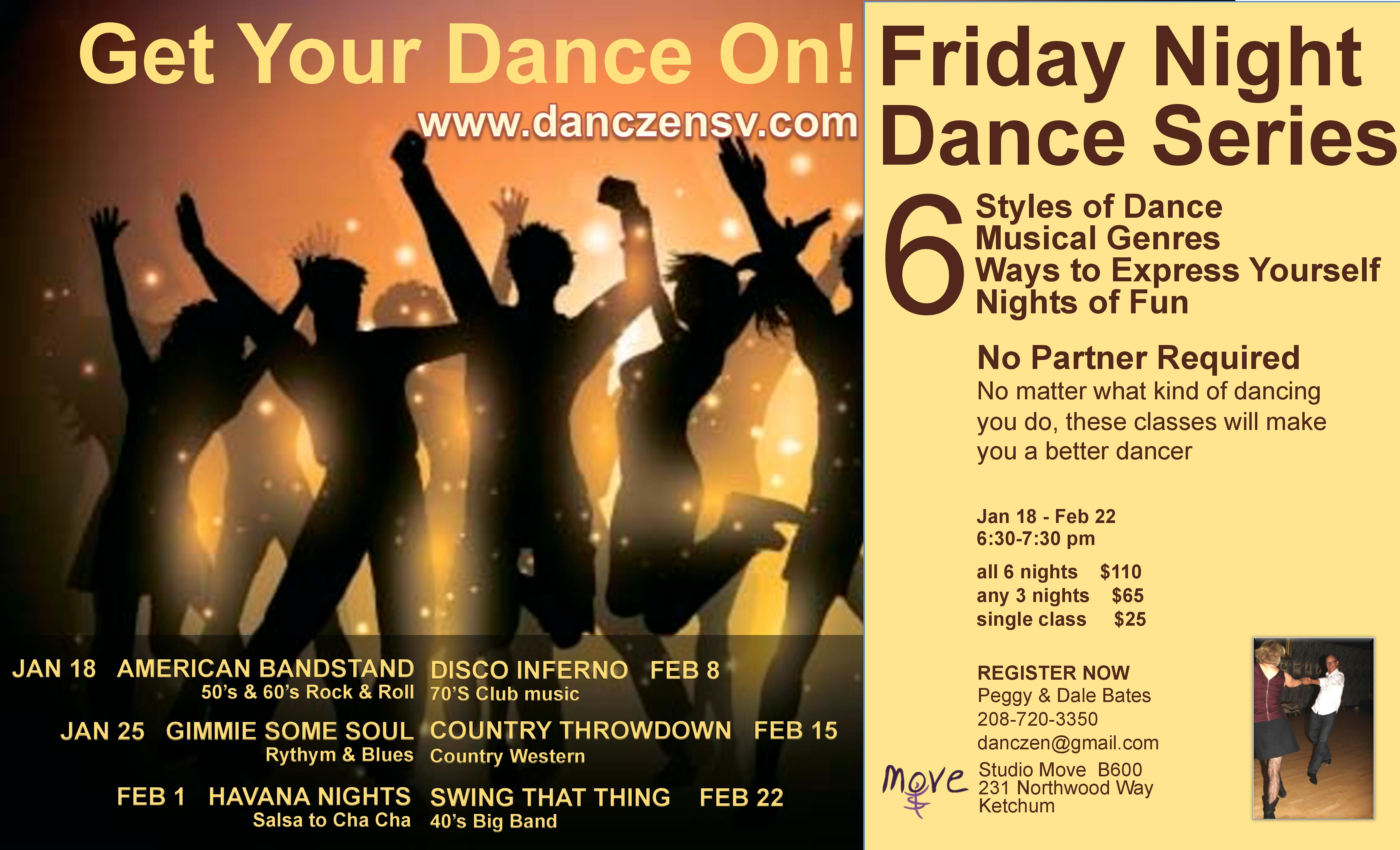 Friday Night Dance Series - Swing That Thing | Visit Sun Valley