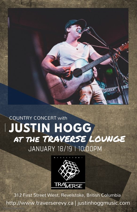 Country Concert with Justin Hogg @ Traverse |  |  |