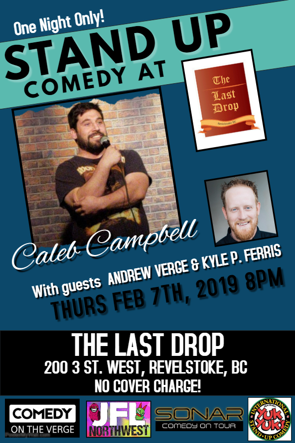 Live Stand-Up Comedy at Last Drop @ The Last Drop Pub |  |  |