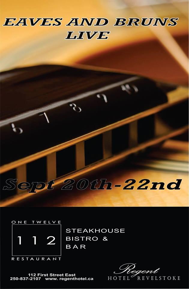 Eaves & Bruns in the 112 @ 112 Restaurant & Lounge |  |  |