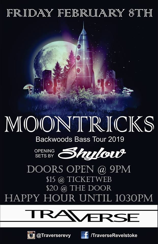 Moontricks w/Shylow @ Traverse |  |  |