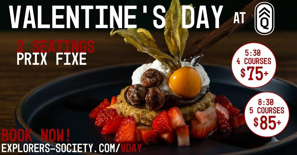 Valentine's Day @ Quartermaster Eatery |  |  |