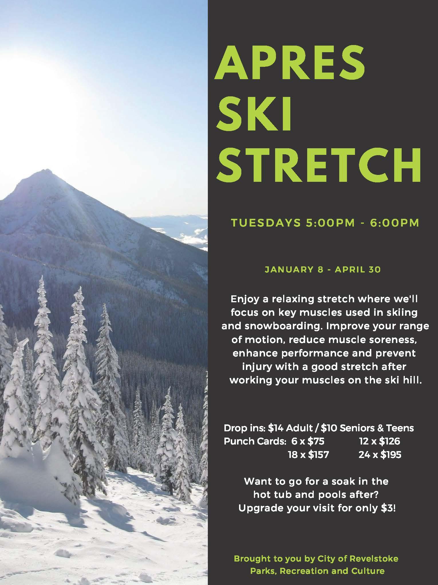 Apres Ski Stretch @ Community Centre |  |  |
