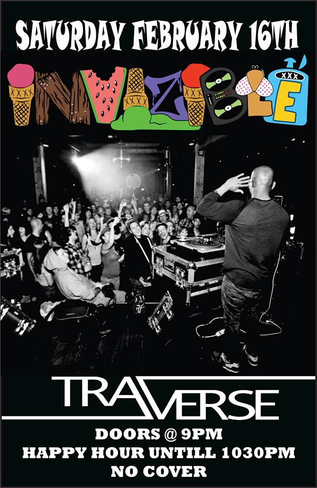 DJ Invisible - Live @ Traverse |  |  |