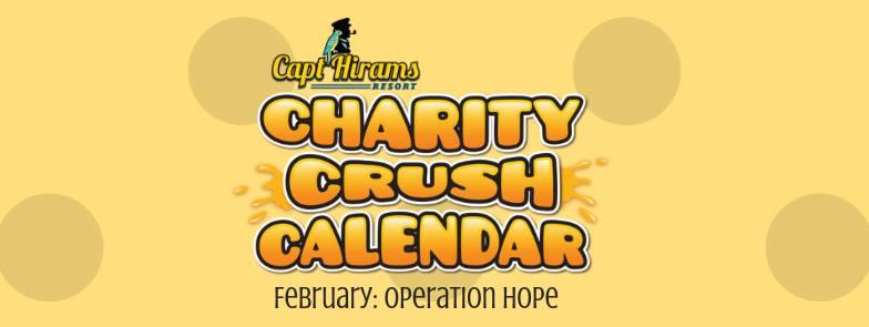 Captain HiramS February 2019 Entertainment Calendar Charity Crush | SurfRider Foundation