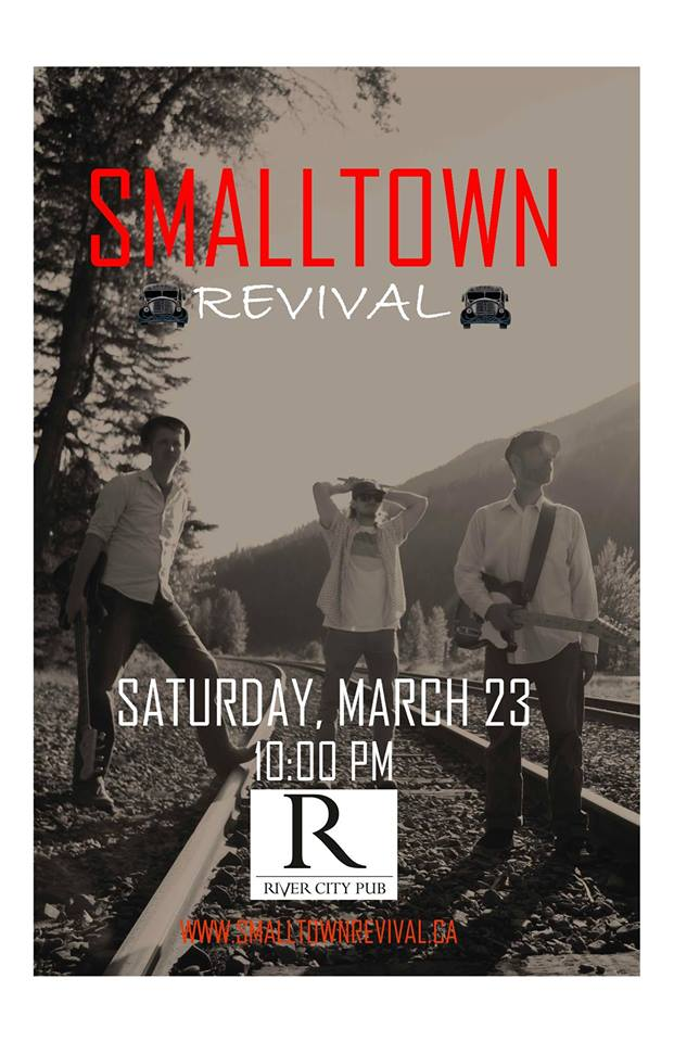 Smalltown Revival LIVE @ River City Pub |  |  |