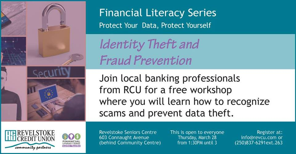 Preventing Fraud and Identity Theft @ 603 Connaught Ave |  |  |