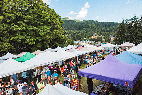 Kaslo Saturday Market