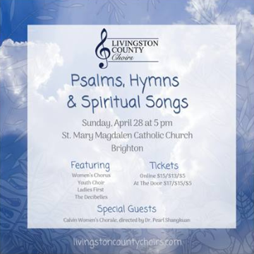 Livingston County Women's Chorus - Psalms, Hymns and