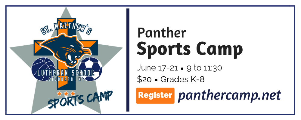 Panther Sports Camp @ St. Matthew's Lutheran School