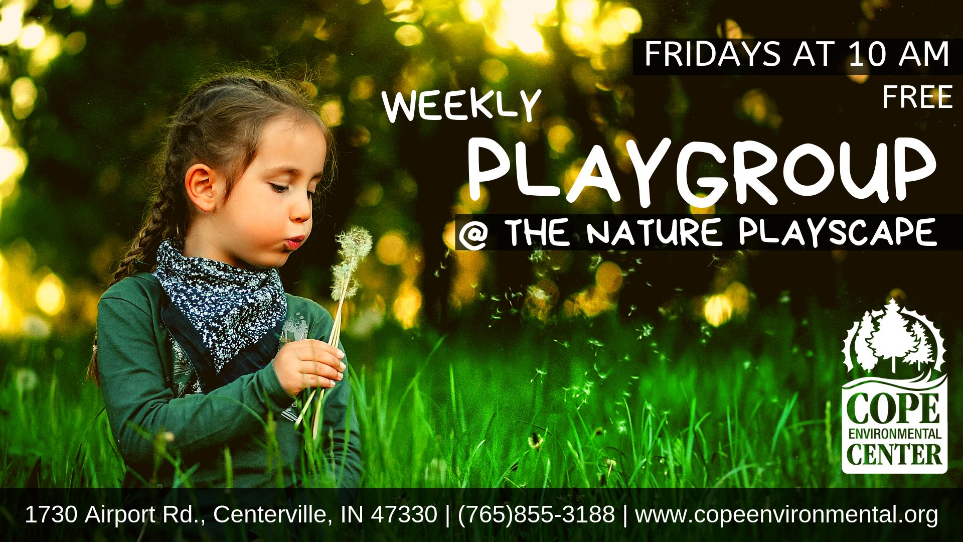 Weekly Playgroup at the Nature Playscape